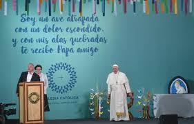 El Papa Francisco visitó una cárcel de mujeres en Chile