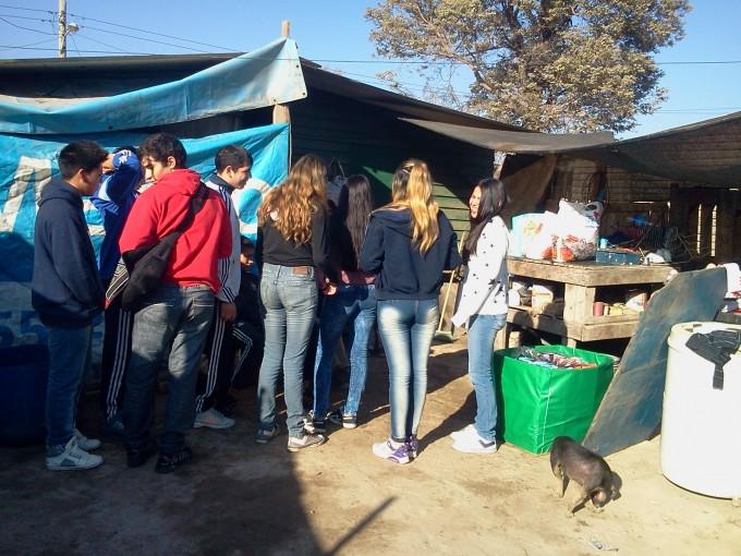 La solidaridad de los alumnos del colegio Facundo Quiroga